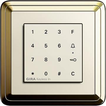 Bộ bàn phím số Gira ClassiX