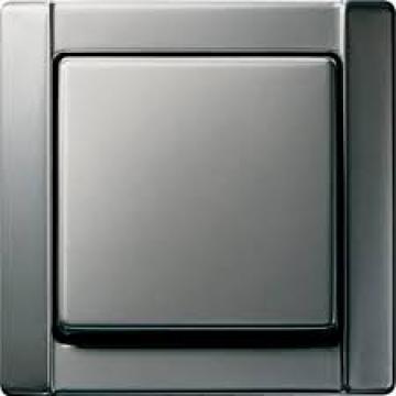 Bộ công tắc đơn Gira Stainless Steel Series 20