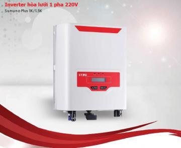 INVERTER hòa lưới 1 pha 220V (Sununo Plus 1K/1.5K)