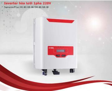 INVERTER hòa lưới 1 pha 220V (Sununo Plus 3K/4K-M/5K-M/6K-M)