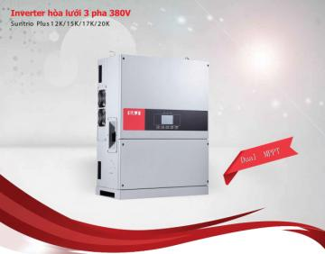 INVERTER hòa lưới 3 pha 220V (Suntrio Plus 12K/15K/17K/20K)