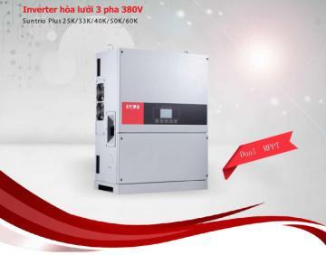 INVERTER 3 pha 220V (Suntrio Plus 25K/33K/40K/50K/60K)