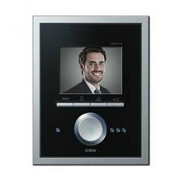 Gira Video Terminal glass black/aluminium